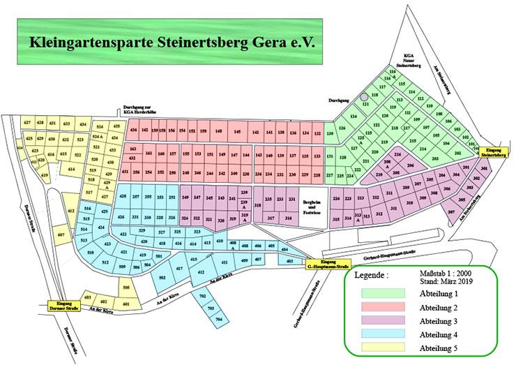 Lageplan Steinertsberg Gera